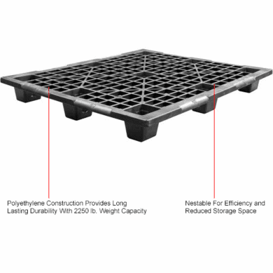 Plastic Pallets At The Price Of Wood 48 X 40 6 Pallet 4