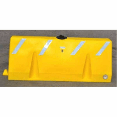 Poly-Cade Barrier Yellow 72L x 16W x 35H