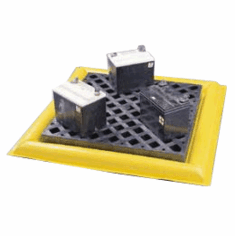 Poly-Spill Pad� Protects Your Floor From Damaging Leaks