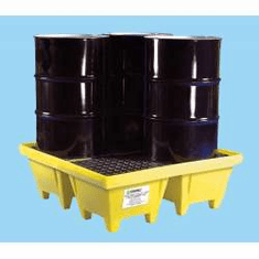 Poly-Spillpallet 6000 With Drain