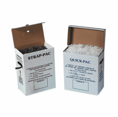 Poly Strapping Kits Plastic Buckles, Jumbo Postal Approved 9000'