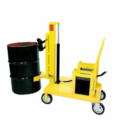 Power Model Easy Lift Counter Balanced Drum Transporter