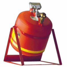 Premium Coated Steel Laboratory Faucet Safety Cans 1 gallon