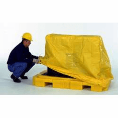 Pullover Cover, 2-drum For Ultra Fluorinated Poly Spill Pallets