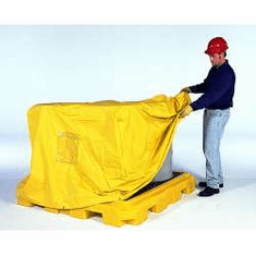 Pullover Cover, 4-drum For Ultra Fluorinated Poly Spill Pallets