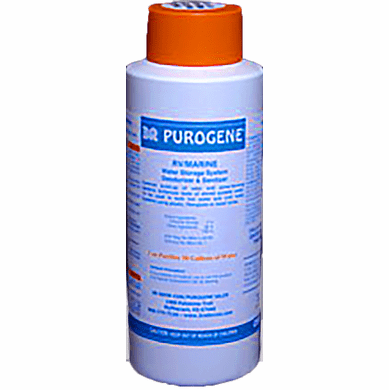 Purogene Water Treatment -16 oz - Pint Size <br> <font color=green>Free Shipping</font>