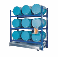 Rack, Stack, Transport, and Safely Contain Spills and Leaks, 1-55 gal