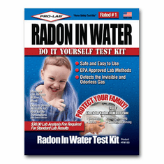 Radon In Water Test Kit