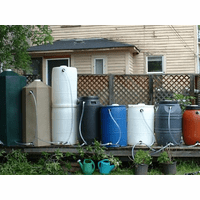 Rain Barrels & Rain Collection Systems