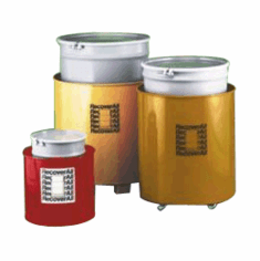 Recoverall™ Spill Containers  Red  18 x 21 1/2  Casters discontinued