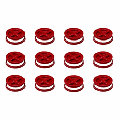 "Red Gamma Seals - Case of 12<b><br><font color=""green""><font size = 3> FREE SHIPPING</font color></b></font>"