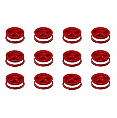"Red Gamma Seals - Case of 12<br><font color=""#008000""><font size = 2>$5.39 Each</font color></font>"