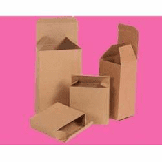 "Reverse Tuck Chipboard Cartons 2"" x 2"" x 3"","