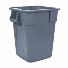 Rubbermaid BRUTE� Square 40 gal, without lid-Gray