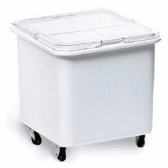 Rubbermaid Ingredient Bins Flat Top Bin w/Sliding Hinged Lid 3 3/4 cu ft