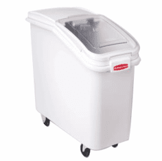 Rubbermaid Ingredient Bins nt Front Bin w/Sliding Lid 32 oz. Scoop 2 3/4 cu ft