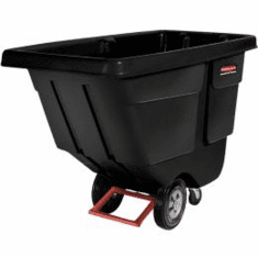 Rubbermaid Rotomolded Tilt Truck, 60 x 28 x 38