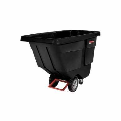 Rubbermaid Rotomolded  Tilt truck,72 x 33 x 43  1 cu yd