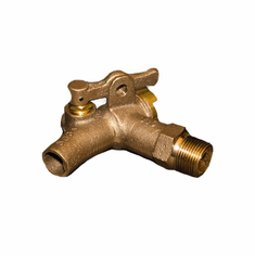 Self-Closing Solid Brass Drum Faucet | 3/4 inch NPT Inlet with Viton Seals