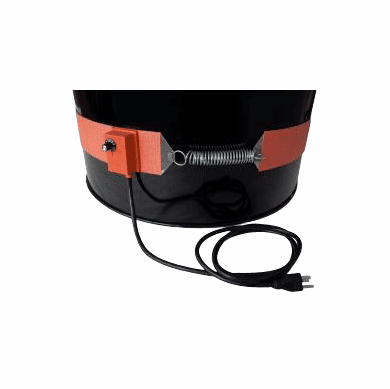 """Silicone Rubber 3"""" Band 15 Gallon Steel Drum Heaters,120v"""