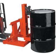 Single Drum, Carriage Mount - Gator Grip Drum Grabber
