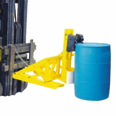 Single Drum, Double Clamping Mechanism Heavy-Duty Handling