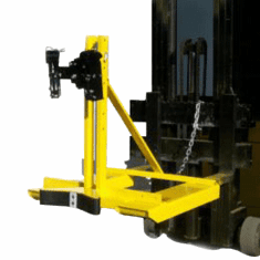 Single Drum, Single Clamping Mechanism Drum Handling