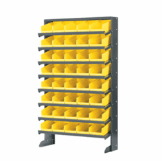 Single-Sided Rack Pick Rack Systems For Bin 830110