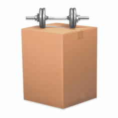 "Single Wall Heavy Duty Corrugated Cardboard Boxes 22"" x 22"" x 22"", 25 Count"