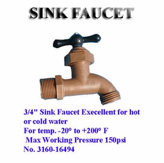 Sink Faucet- Food Grade Approved Material