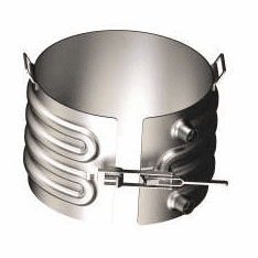 Slip-Over Style, Zinc Heat or Cool 55 Gallon Steel Drums,1-Section