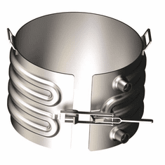 Slip-Over Style, Zinc Metalized Heat or Cool 5 Gallon Steel Pails