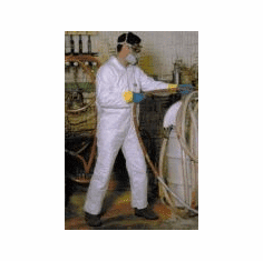 Small Tyvek Protective Safety Coveralls