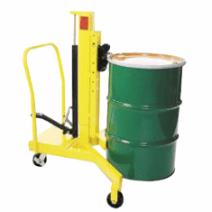 Stainless Steel Model Easy Lift Economy Drum Transporter
