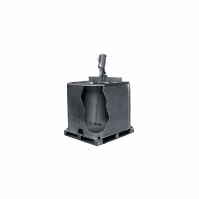 Standard Mixer, Clamp Mount - Bulk Container Mixers 1/2 Hp TEFC Motor