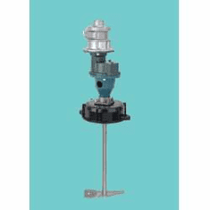 Standard Mixer, Screw-in Mount - Bulk Container Mixers,1 Hp TEFC Motor