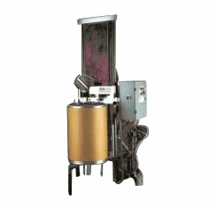 Stationary Fiber Drum Dechimer