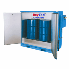 Steel Drum and Pail Heating Cabinets