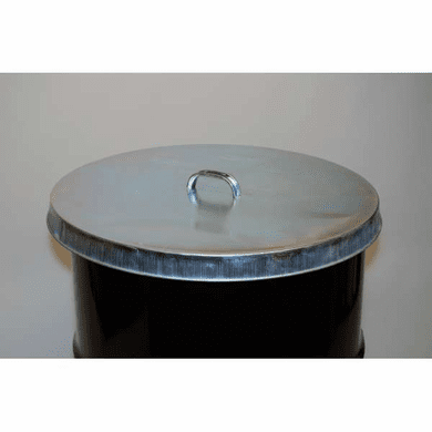 Galvanized Steel Drum Covers For 55 Gallon Open Head
