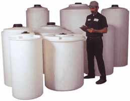 Tanks & Bulk Containers | Horizontal Leg Tanks | Vertical Tanks