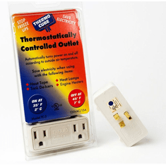 """Thermo-Cube Temperature Controlled Outlet Adapter <br><font color=""""#008000"""" >Free Shipping</font>"""
