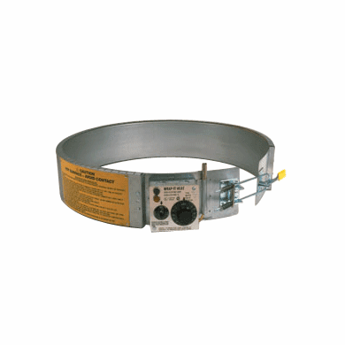 Thermostat Control 240v 55 Gallon Steel Drum Heater, 200-400°