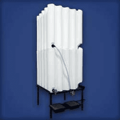 Tote A Lube Storage and Dispensing System, 2 - 240 Gallon tanks