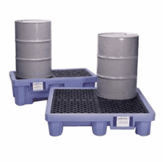 Ultra Fluorinated Poly Spill Pallets for Chlorinated Solvents
