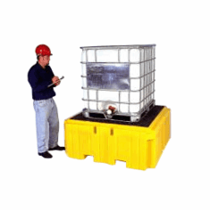 Ultra IBC SpillPallet Plus With Drain