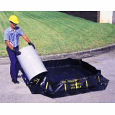 Ultra Portable Secondary Containment Berms 179 Gallon