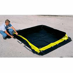 Ultra Portable Secondary Containment Berms 748 Gallon