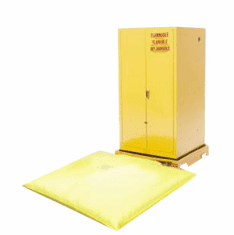 Ultra Safety Cabinet Containment Systems  one-drum  6 x 36 1/2 x 36 1/2  82 gallon