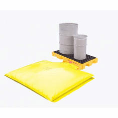 Ultra Spill Decks 99 Gallon 4-drum SpillDeck with Bladder