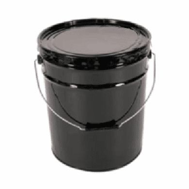 UN Rated Epoxy Lined 5 Gallon Open-Head Steel Pail with Lid Cover